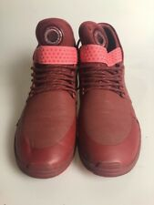 Supra Skytop V Size 10 Mens Shoes High Top Maroon Lace Up Sneakers