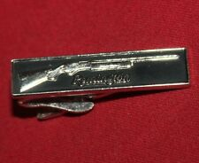 Remington Shotgun Nickel Tie Bar