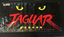 Atari Jaguar 64 Bit Plastic Large Banner Store Display Poster