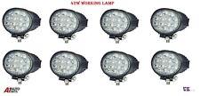 8 Pcs 12V/24V 42 W Impermeable 14 LED con Luces y Lámpara de trabajo haz puntual Offroad Jeep Coche