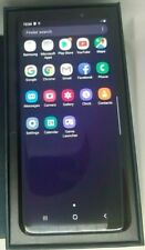 OPEN BOX Samsung Galaxy S9+ Plus SM-G9650 - Dual Sim- 128GB- Black- GSM Unlocked