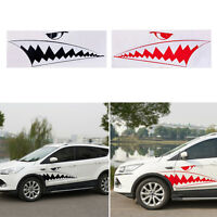2x Car Body DIY Shark Teeth Graphics Waterproof Vinyl Car JDM Sticker Decals