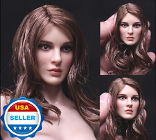 "1/6 KIMI KT008 Natalie Portman Head Sculpt for 12"" female body Phicen"