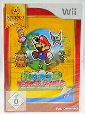 Super Paper Mario -- Nintendo Selects (Nintendo Wii, 2012, DVD-Box)
