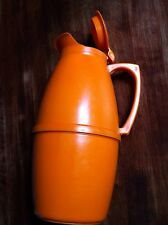 Pichet Thermos Tupperwear Orange Vintage
