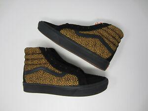 NEW Vans Comfycush Sk8-Hi Tiny Cheetah Black VN0A3WMCVWS women's shoe sneaker 9