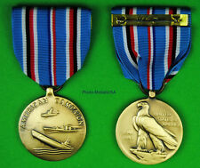 Wwii American Campaign Medal -made in the Usa- Ww2 Theater - Usm076 Acm