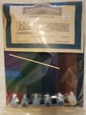 Gail Wilson Settle Bench W/Cushion & Quilt Kit ~ Early American Doll Series~NIP