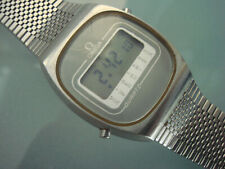 Vintage Omega Quartz LCD watch stainless steel Constellation