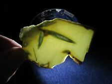 NEW WYOMING APPLE NEPHRITE / JADE SLAB, 29 GRAMS, VINTAGE COLLECTION STOCK.