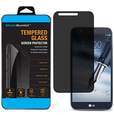 Privacy Anti-Spy Tempered Glass Screen Protector For LG G Stylo 3 PLUS