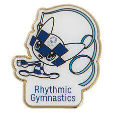 Tokyo 2020 Olympic Games official mascot pin badge Rhythmic Gymnastic Olympics