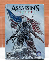 Assassin's Creed III -- Pre-Order Steelbook - Brand New, Sealed - NO GAME