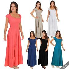 Boat Neck Maxi Dresses for Women
