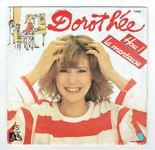 """DOROTHEE Vinyle 45 tours 7"""" HOU ! LA MENTEUSE - LA VALISE - ADES 11059 F Réduit"""