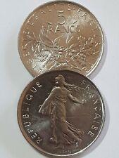 5 francs Semeuse 1970 - 2001 Choisissez votre Année Monnaie France