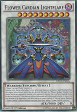 YU-GI-OH CARD: FLOWER CARDIAN LIGHTFLARE - RARE - RATE-EN045 1ST EDITION