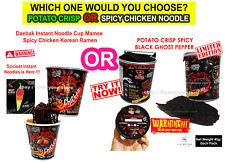 Potato Chips Crispy Snack or Noodles Prepared Ghost Pepper Limited Edition NEW