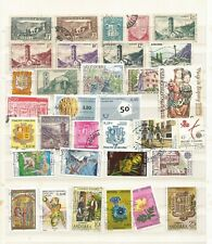 Andorra A Nice Selection of Used Commemorative Stamps CV £80+