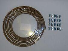 1x5,1x2,5 m Kunifer-Bremsleitung 4,75 mm + 20 x Verschraubung B. E, Opel GT
