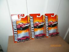 3  2011 Matchbox 1968 Ford Mustang GT/CS (RED) MBX Old Town