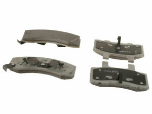 Front Brake Pad Set For 1993 GMC C2500 Suburban Y363WX Thermoquiet Semi-Metallic
