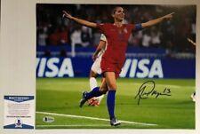 Alex Morgan Signed Autographed 11x14 Photo USWNT Soccer Team BECKETT COA 4
