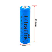 2x UltraFire 18650 Battery 3.7v Li-ion Rechargeable Batteries+US Charger US cc