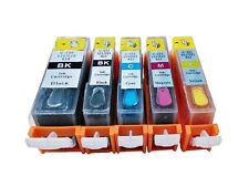Canon Edible REFILLABLE PGI-220/CLI-221 220/221 PIXMA iP3600 iP4700 MP640 890