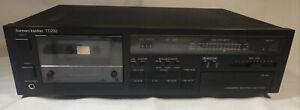 Harman Kardon TD292 Stereo Cassette Deck Vintage Linear Phase Tested Works Used