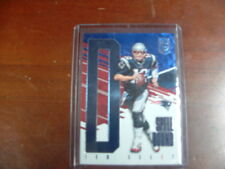 "TOM BRADY N.E.PATRIOTS 2017 ELITE SPELLBOUND""D""BLUE FOIL CARD#d.2/5(VERY RARE)"