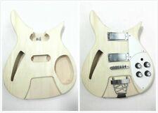 Set Neck Electric Guitar DIY-Full Kit,Semi-Hollow Body,No-Soldering.GK HSRC 1910