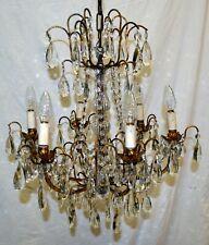 ANTICO LAMPADARIO Liberty VETRO Murano EPOCA 900 OLD GLASS HANGING LAMP VINTAGE