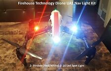 DRONE DUAL CREE STROBE LIGHT NAVIGATION KIT DJI INSPIRE 1 2 PHANTOM MAVIC