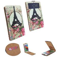 LANDVO L800S  - Schutz Hülle Handy - Flip M Paris Rose