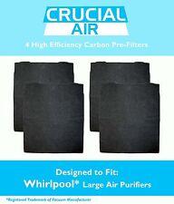 4 Crucial Air Air Purifier Carbon PreFilter Whirlpool AP300 AP350 AP450 8171434K