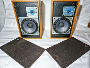 Vintage Rare Wharfedale Shelton XP2 Speakers Tested & Working