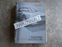 1988 ACURA Legend Coupe Service Manual OEM