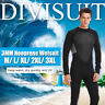 3mm Men Neoprene Wetsuit Full Body Super Stretch Diving Swimming Surfing Suit