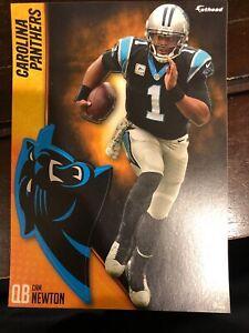 """Cam Newton Fathead Tradeable 5"""" x 7"""" Carolina Panthers Decal"""