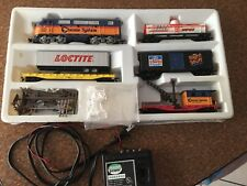 Model train set chessie system ho scale rare auto dealers set