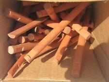 Vintage Lincoln Logs (1986) & (1978) Lot  Pieces wood notched RETRO TOYS