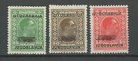 Jugoslawien 1933 ☀ König Alexander - MI. 269 / 271 ☀  (*)