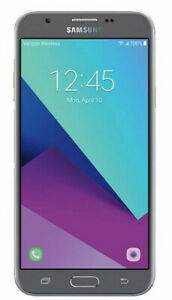 Samsung Galaxy J7 SM-J727V 16GB Silver (Verizon/Unlocked) *MINT SCREEN *FASTSHIP