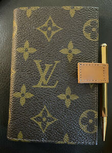 Vintage Louis Vuitton LV ADDRESS BOOK AND DIARY 1977 Saks Fifth Avenue