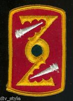72nd Field Artillery Brigade embroidered patch merrowed edge