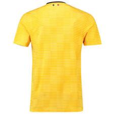 Maillots de football des sélections nationales jaunes longueur manches manches courtes, taille S