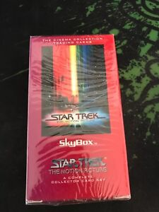 Skybox Star Trek The Motion Picture complete trading card set still sealed