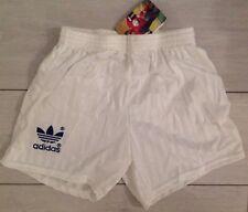 Adidas Vintage Short Brazil Blanc XS-S 36-38 Neuf Original Retro Soccer