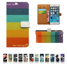 XH For LG Samsung Huawei Series Phone Leather Wallet Card Case Stand Cover Skin